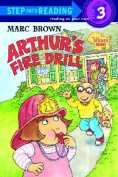 Arthur's Fire Drill (Step Into Reading Sticker Books