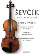 Sevcik Violin Studies, Opus 2, Part 3