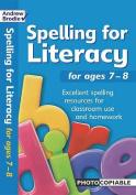 Spelling for Literacy