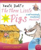 Collins Musicals - Roald Dahl's The Three Little Pigs (Book + CD/CD-ROM)