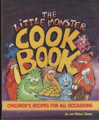 The Little Monster Cook Book (A Golden Book)