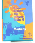 Personal Development, Health and Physical Education, K-6