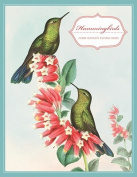 "Hummingbirds Keepsake Boxed Notecards [With 16 4-1/4 X 5-1/2"" Note Cards and 17 Slate-Blue Envelopes]"