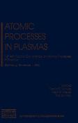 Atomic Processes in Plasmas