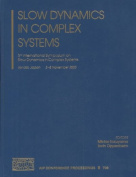 Slow Dynamics in Complex Systems