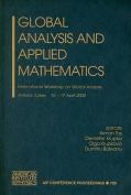 Global Analysis and Applied Mathematics