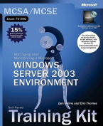 MCSE.NET Enterprise Server Training Kit