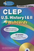 CLEP History of the United States I & II Flashcards [With CDROM]