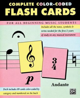 Complete Color Coded Flash Cards: For All Beginning Music Students
