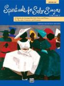 Spirituals for Solo Singers, Bk 2