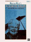 Martha Mier's Favorite Solos