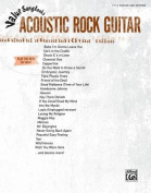 Value Songbooks -- Acoustic Rock Guitar