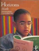 Alpha Omega Publications JKC120 Horizons Math Kindergarten complete set