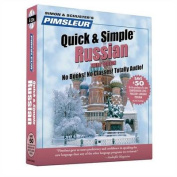 Pimsleur Russian Quick & Simple Course - Level 1 Lessons 1-8 CD [Audio]
