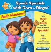 Speak Spanish with Dora and Diego! Family Adventures! [Audio]