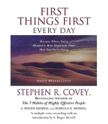 First Things First Every Day [Audio]
