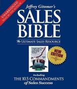 Jeffrey Gitomer's Sales Bible [Audio]