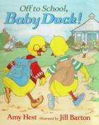 Off To School Baby Duck