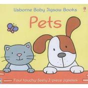 Usborne First Jigsaw Books Pets (Jigsaws) [Board book]