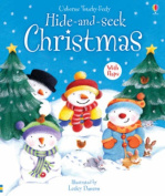 Hide and Seek Christmas (Usborne Touchy Feely Books) [Board book]
