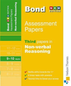 Bond Third Papers in Non-verbal Reasoning 9-10 Years