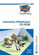 Nelson Handwriting Interactive Whiteboard CD ROM Blue Level