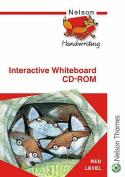 Nelson Handwriting Interactive Whiteboard CD ROM Red Level
