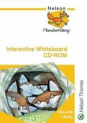 Nelson Handwriting Whiteboard CD ROM Yellow Level