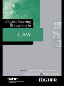 Effective Learning and Teaching in Law