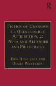 Fiction of Unknown or Questionable Attribution: Part 2