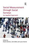 Social Measurement Through Social Surveys