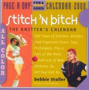 Stitch 'n Bitch Page-A-Day Calendar