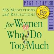 For Women Who Do Too Much Calendar