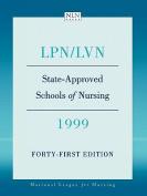 LPN/LVN, State-approved Schools of Nursing, 1999