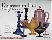 Depression Era Stems and Tableware