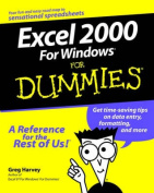 EXCEL 2000 for Windows for Dummies