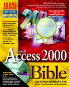 Microsoft Access 2000 Bible [With *]