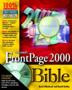 Microsoft FrontPage 2000 Bible with CDROM