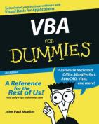 VBA for Dummies .