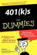 401(k)s for Dummies