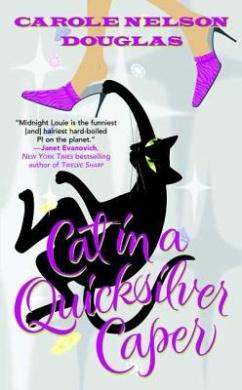 Cat in a Quicksilver Caper (Midnight Louie Mystery)