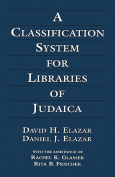 A Classification System for Libraries of Judaica