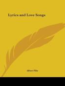 Lyrics and Love Songs (1899)