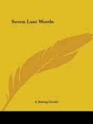 Seven Last Words (1885)