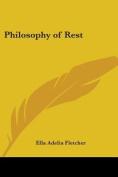 Philosophy of Rest (1900)
