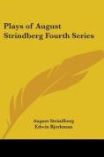 Plays of August Strindberg Fourth Series