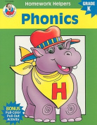 Phonics, Homework Helpers, Grade K (Brighter Child