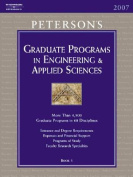 Peterson's Graduate Programs in Engineering & Applied Sciences  : Book 5 (Peterson's Graduate Programs in Engineering & Applied Sciences