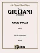 Grand Sonata for Violin and Guitar, Op. 25