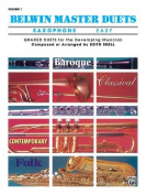Belwin Master Duets (Saxophone), Vol 1